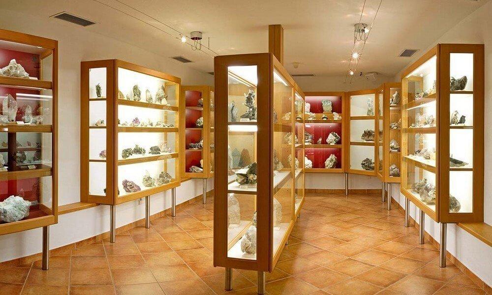 Museum of Minerals in St. Johann