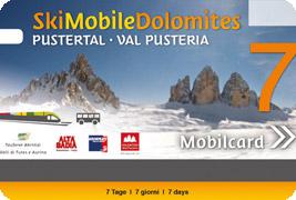Die Ski Mobil Card: Gratis ins Skigebiet und durch ganz Südtirol
