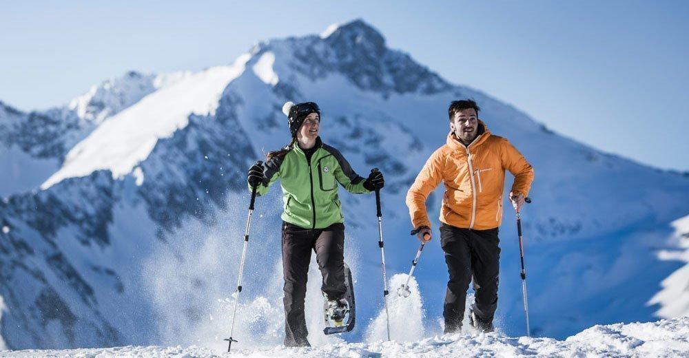 Auf Skiern bis zum Wintergipfel